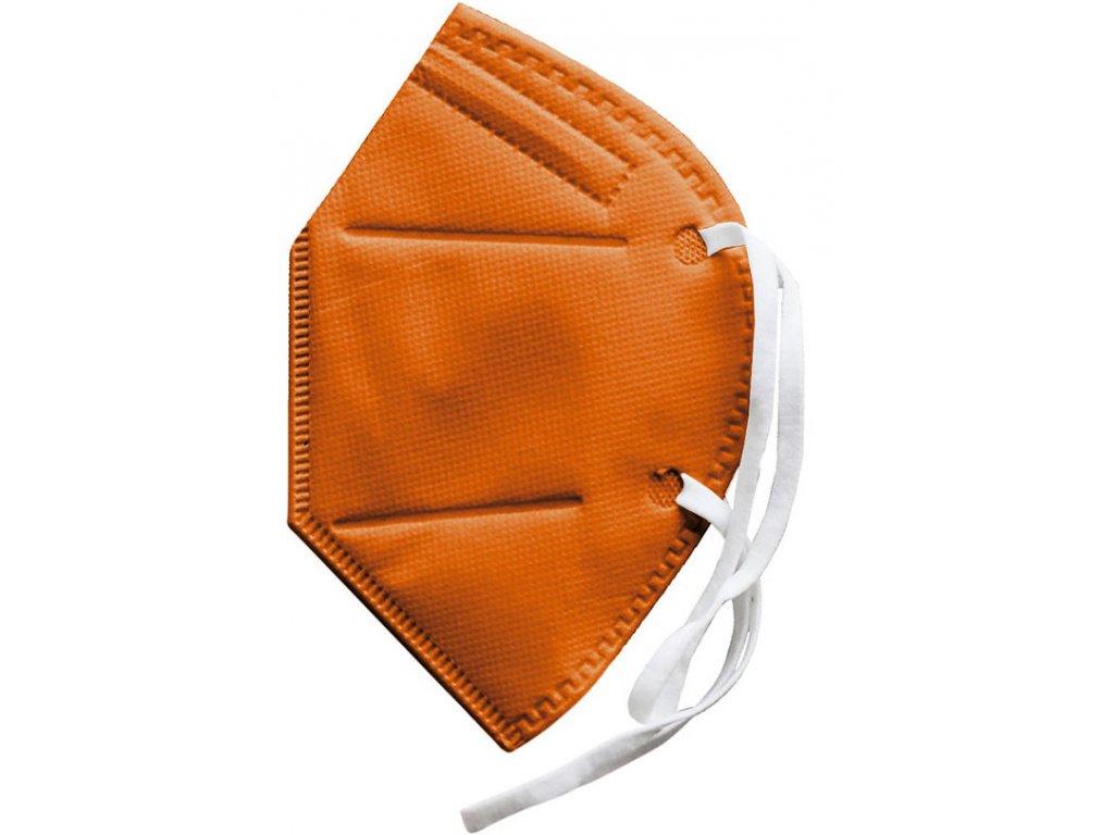 dowe sportswear ffp2 maske orange 1