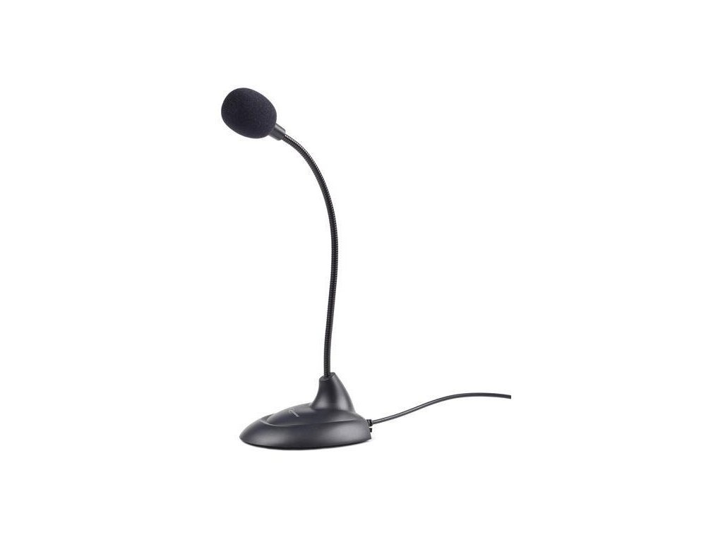 gembird mikrofon na stul mic 205 cerny 2