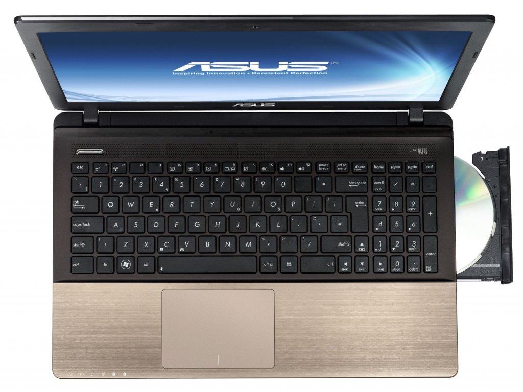ASUS K55VJ-SX071H hnědá  i3-3110M   6GB RAM   NVIDIA GT 635M   500GB HDD   DVD±RW/RAM