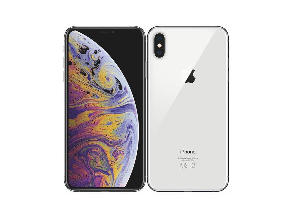 Apple iPhone XS Max 512GB Silver  PŘEDVÁDĚCÍ TELEFON | KOMPLETNÍ ORIGINÁL BALENÍ