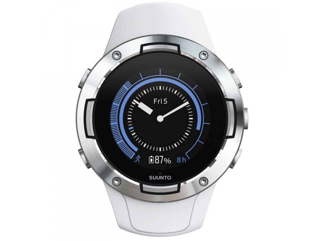 GPS hodinky Suunto 5 - White  CZ DISTRIBUCE