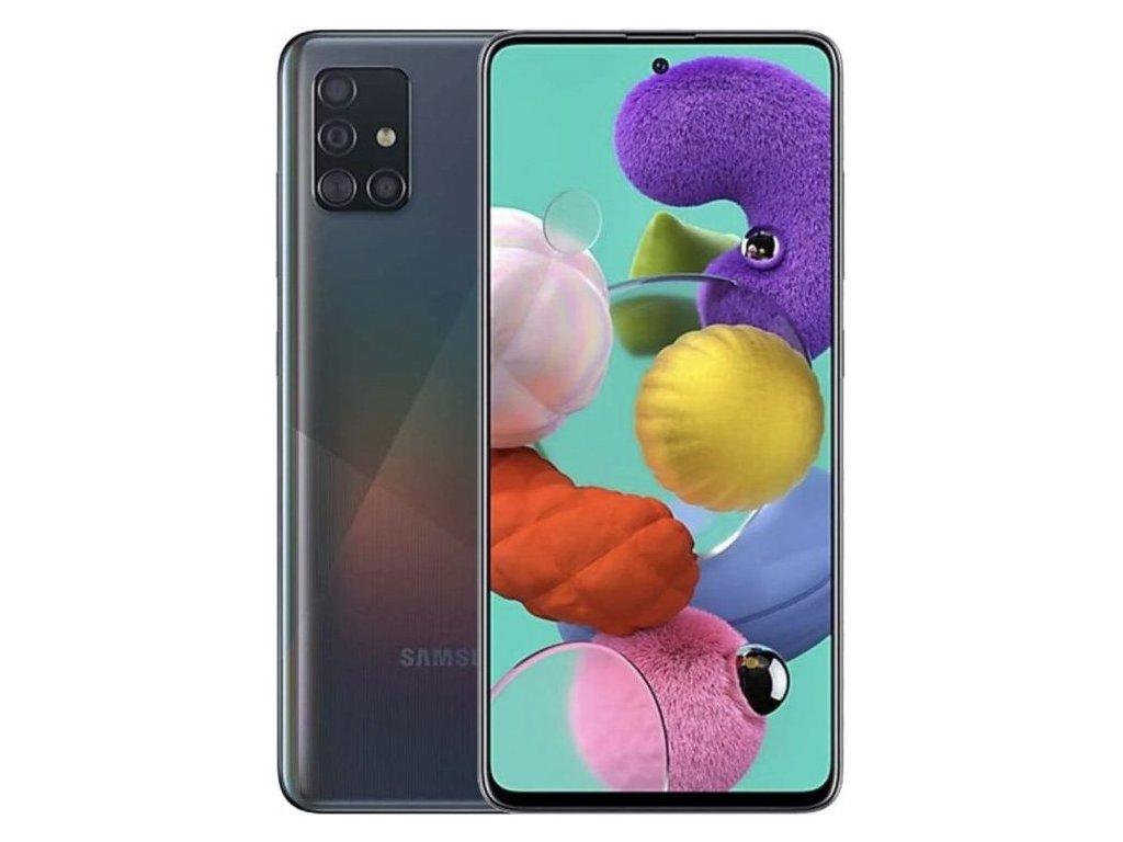 Samsung Galaxy A51 4GB/128GB Black  KOMPLETNÍ BALENÍ