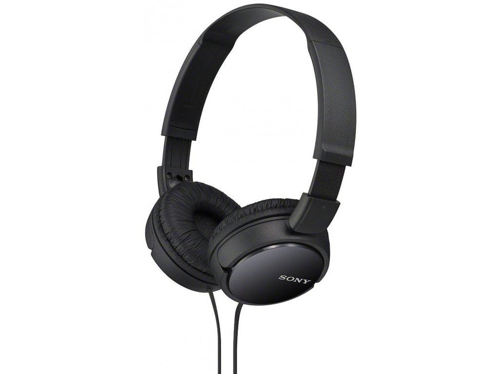Sony MDR-ZX110 černá  CZ DISTRIBUCE
