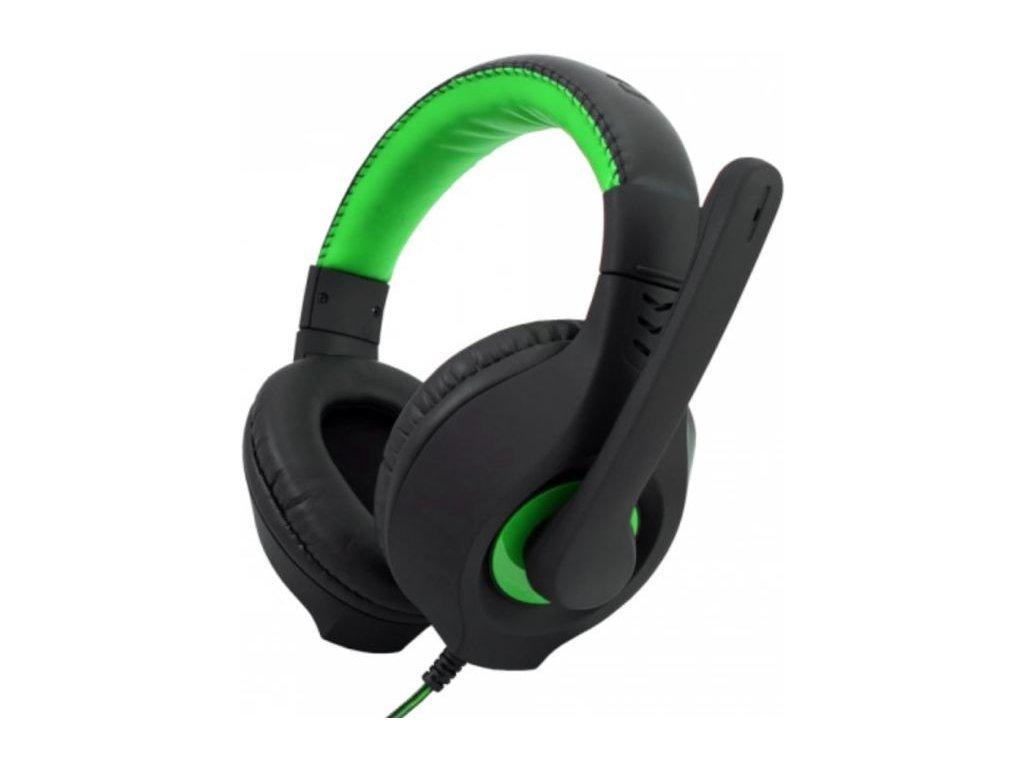 C-TECH Nemesis V2 GHS-14B černá/zelená