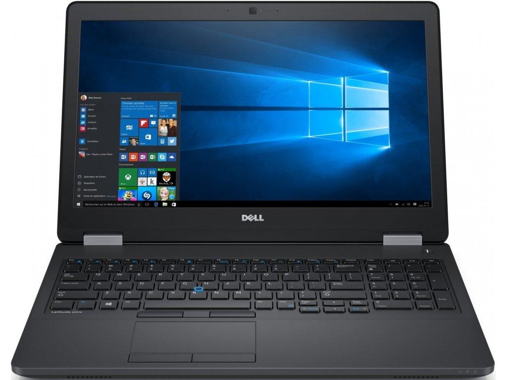 Dell Latitude 15 E5570, černá  i7-2,60GHz | RAM 16GB | SSD 512GB | AMD 2GB VRAM | WIN 10 PRO |