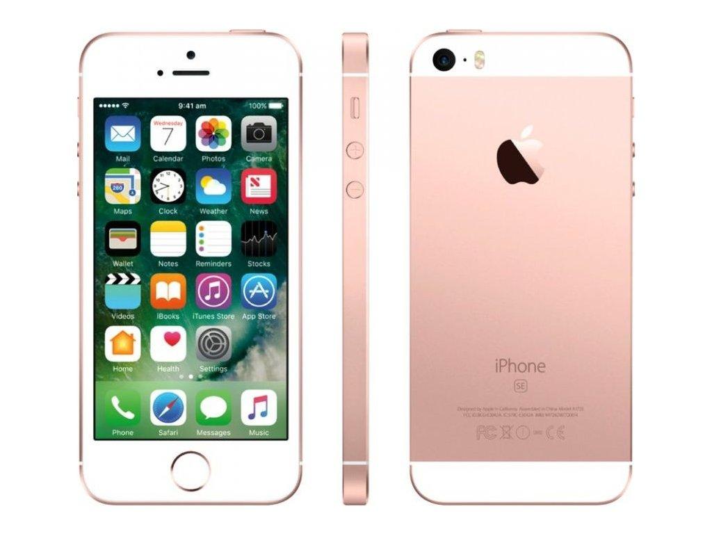 Apple iPhone SE 32GB, růžová/zlatá  PŘEDVÁDĚCÍ TELEFON