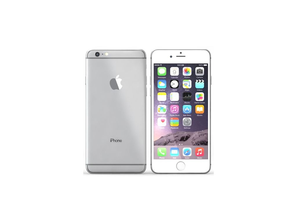 Apple iPhone 6 Plus, stříbrná, 16GB