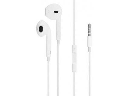 Apple EarPods 3.5mm, s mikrofonem, bílá