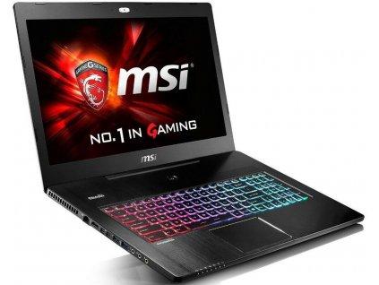 """MSI GS72 6QE Stealth Pro  17.3"""" FULLHD i7-6700HQ  GTX 970M 128GB SSD+1TB"""