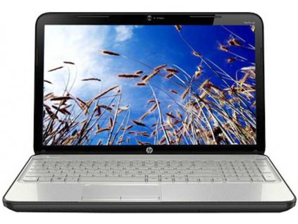 154 hp pavilion g6 2137tx laptop 2nd gen ci3 4gb 500gb win7 hb 2gb graph linen white color with modern mesh pattern logo