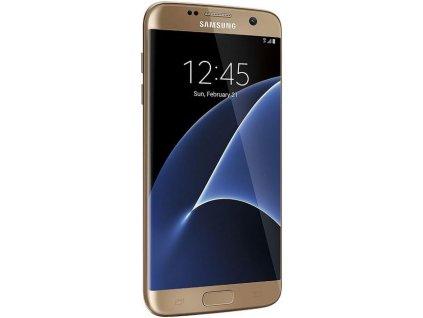 Samsung Galaxy S7 Edge 32GB, zlatá  PŘEDVÁDĚCÍ TELEFON
