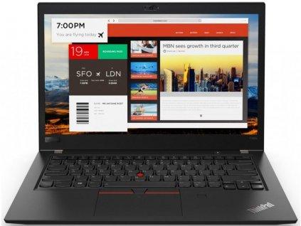 Lenovo ThinkPad T480s, černá