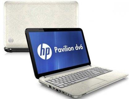 HP Pavilion dv6-6b10ec, bílá  A4 , Radeon 7400M , 256GB SSD