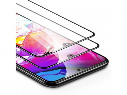 17921 galaxy a70 tempered glass full coverage screen protector