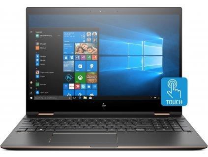 HP Spectre x360 - 15-ch004na černá  IPS Ultra QHD | i7-8705G | 16GB | 1TB M.2 SSD | RX Vega 4GB HBM
