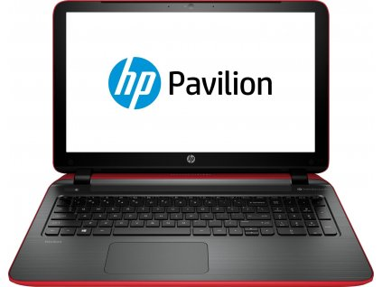 HP Pavilion 15 (15-p208nc), červená  A10-7300 | 4GB RAM | AMD Radeon R7 M260