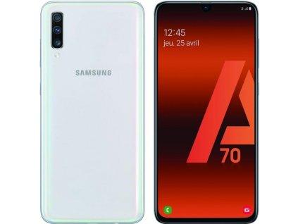 Samsung Galaxy A70 6GB/128GB bílá  PŘEDVÁDĚCÍ TELEFON