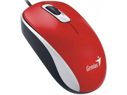 Genius DX-110, USB, červená