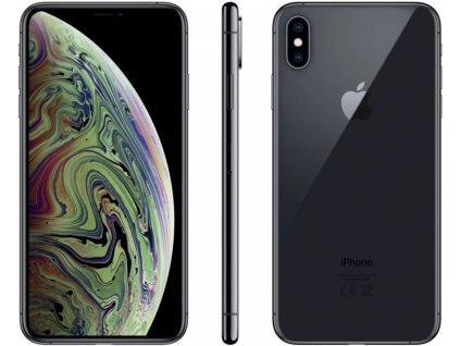 Apple iPhone Xs Max 512GB šedá  PŘEDVÁDĚCÍ TELEFON