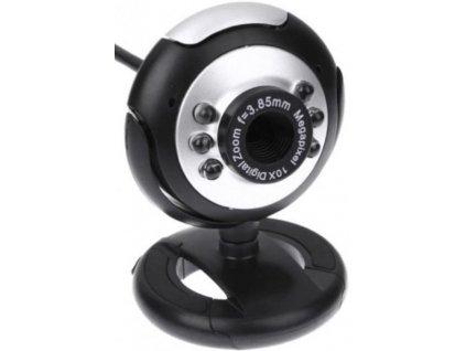 Webkamera s mikrofonem W6  Kvalitní kamera na distanční výuku