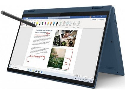 Lenovo IdeaPad Flex 5-14ARE05 modrá + dotykové pero  Ryzen 5 4500U | 512GB SSD | RADEON | FULLHD