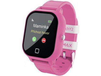 LAMAX WatchY2 Pink - dětské smart watch  CZ DISTRIBUCE
