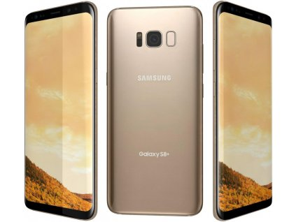 samsung galaxy s8 plus maple gold 3d model c4d max obj fbx ma lwo 3ds 3dm stl 1702234 o
