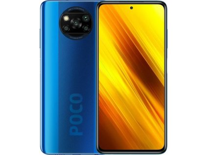 Xiaomi POCO X3, 6GB/64GB Cobalt Blue  CZ DISTRIBUCE