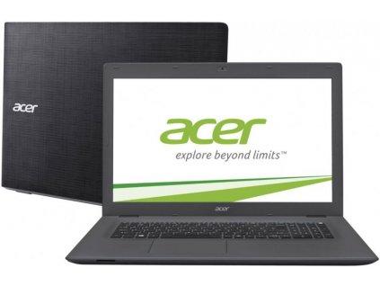 "Acer Aspire E17 (E5-772G-38SQ), šedá  17,3"" HD+ | i3-5005U | 8GB DDR4 | 256SSD | NVIDIA 940M"
