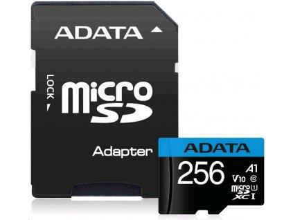 ADATA MicroSDXC UHS-I 256 GB AUSDX256GUICL10A1-RA1