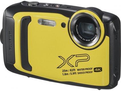 Fujifilm FinePix XP140, žlutá  PŘEDVÁDĚCÍ FOTOAPARÁT | CZ DISTRIBUCE