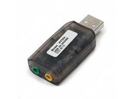 Zvuková karta do USB (PC) 7,1 - NOTEBOOK