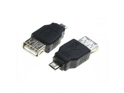 PremiumCord USB redukce USB A/female - Micro USB/male