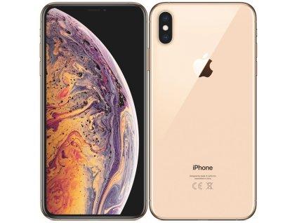 Apple iPhone XS Max 512GB Gold  NOVÝ KOMPLETNÍ ORIGINÁLNÍ BALENÍ SE SLUCHÁTKY A NABÍJEČKOU