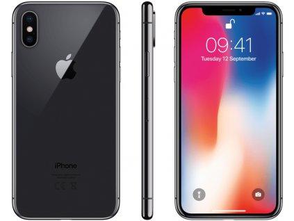 Apple iPhone X 256GB šedá  PŘEDVÁDĚCÍ TELEFON