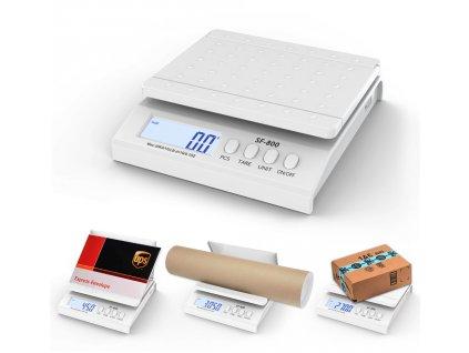 Digitálna stolová listové váha SF800 do 30 kg/1 g