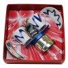 caffettiera mini 2 tazze blu in regina di cuori
