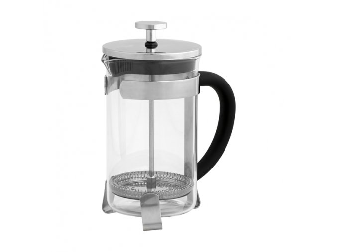 FRENCH PRESS METAL/GLASS 600ml
