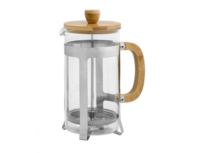 FRENCH PRESS GLASS/BAMBOO 850ml