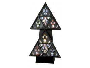 espositore triangolare papalina