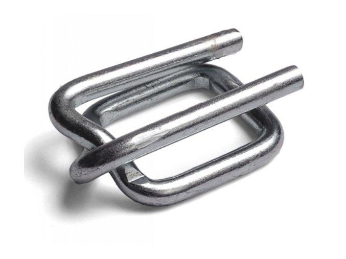 ocelova spona zinkovana 25 mm kvalita