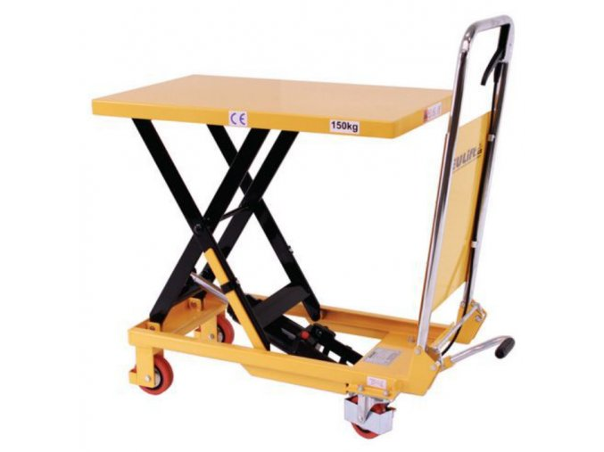 mobilni hydraulicky zvedaci stul do 150 kg deska 74 x 45 cm 110720 a