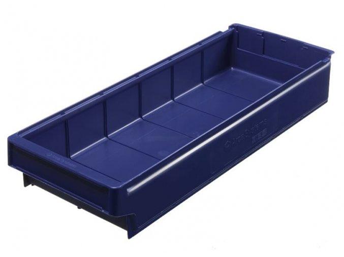 Zásuvný box,  600 x 230 x 100 mm, modrý, bal. 8 ks