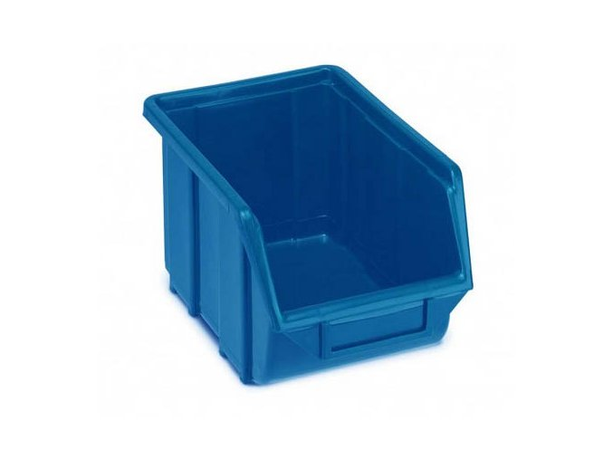 plastovy box ecobox 16 7 x 22 x 35 5 cm modry
