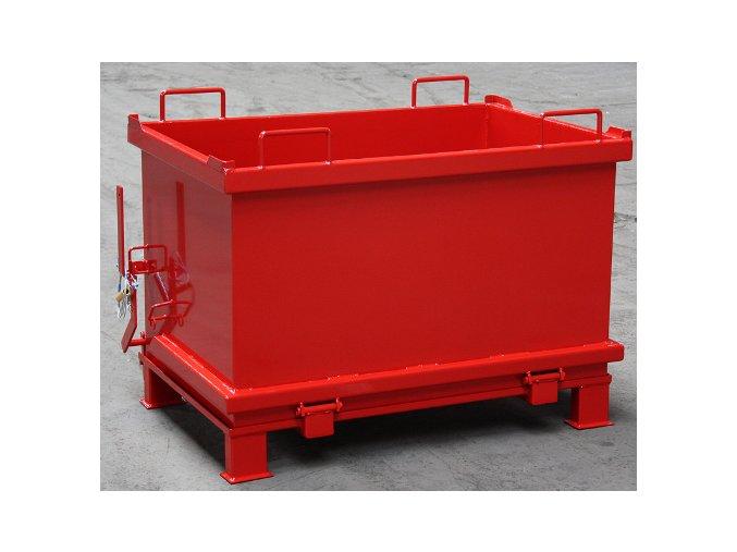 kontejner s vyklopnym dnem 600 litru