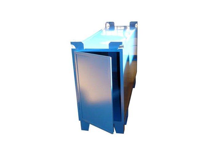 Kontejnery na zářivky, boční otevírání