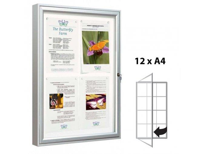 vitrina hluboka elegantni 122xa4