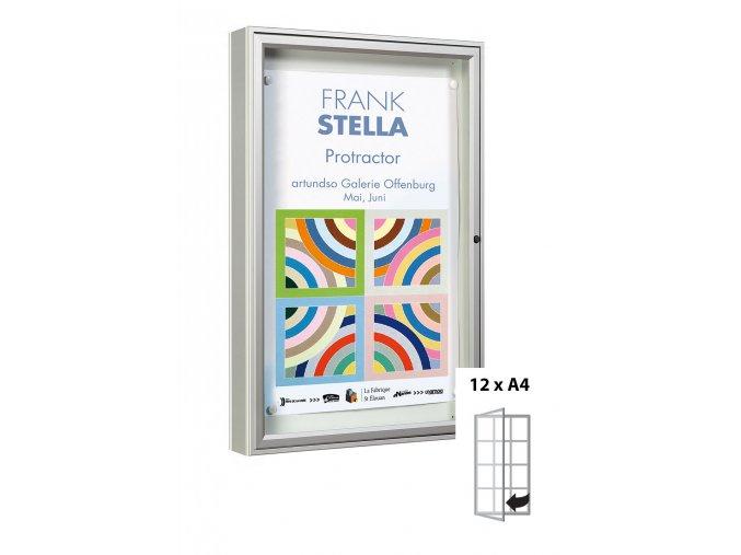 venkovni vitrina hluboka elegantni vitincom 1000 typ 12xa4