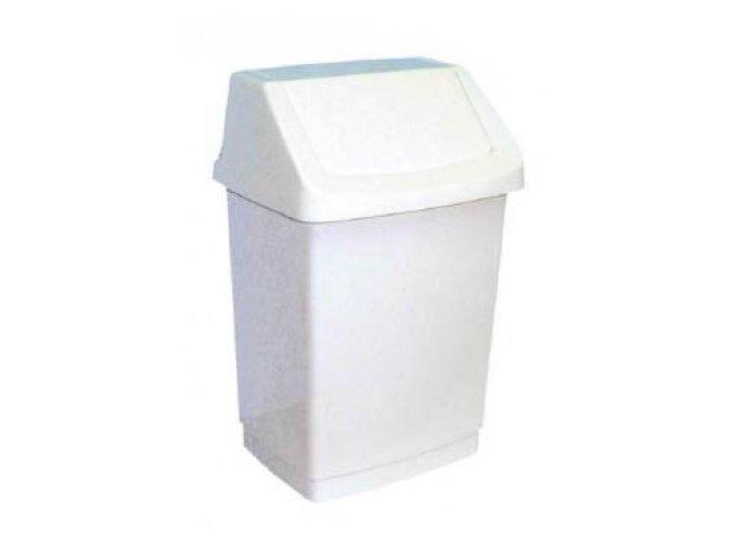 Odpadkový koš, výkyvné víko, 9 litrů