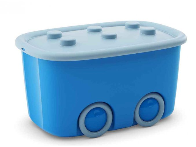 Box mobilní světle modrý